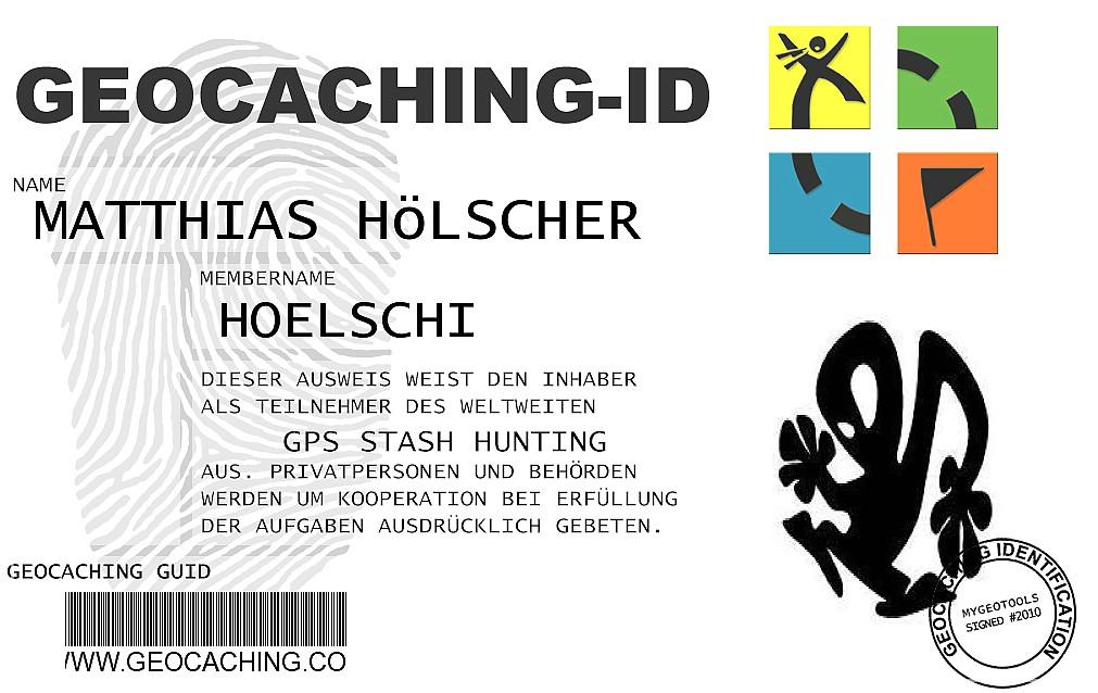 Geocaching-ID